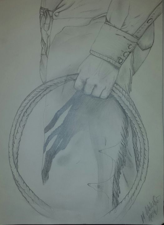 Cowboy - Western creative arts