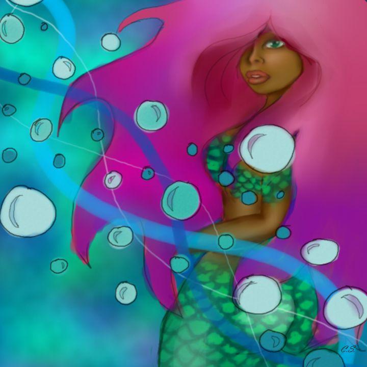 Mermaid - Inner Chill Art
