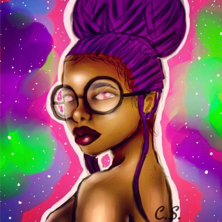 Violet - Inner Chill Art