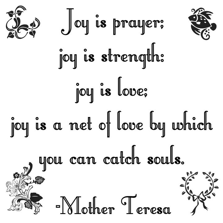 Joy is prayer - Perfect designers