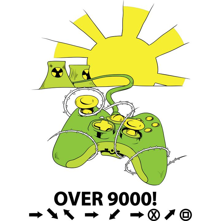 Radioactive game over 9000! - Perfect designers