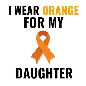 Orange for my daughter