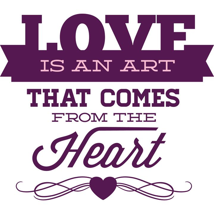 Love is an art - Perfect designers