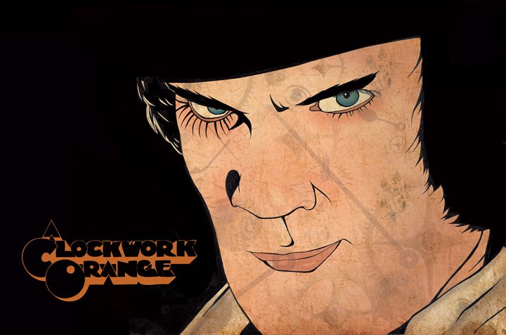 A Clockwork Orange - Joseph Griffin Art