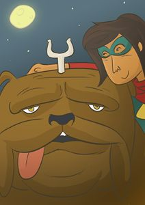 Ms Marvel and lockjaw