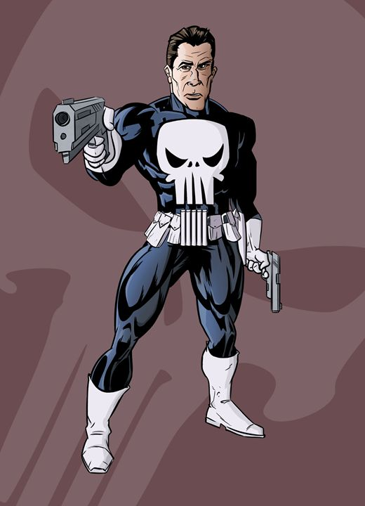 The Punisher - Joseph Griffin Art