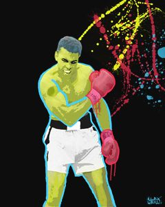 legend Ali - Alex Wealth art