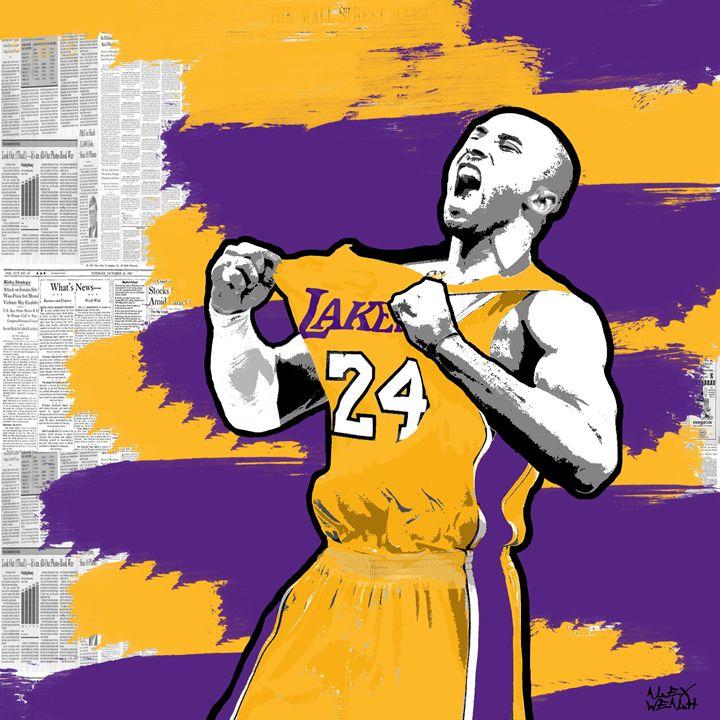 Legend Kobe - Alex Wealth art