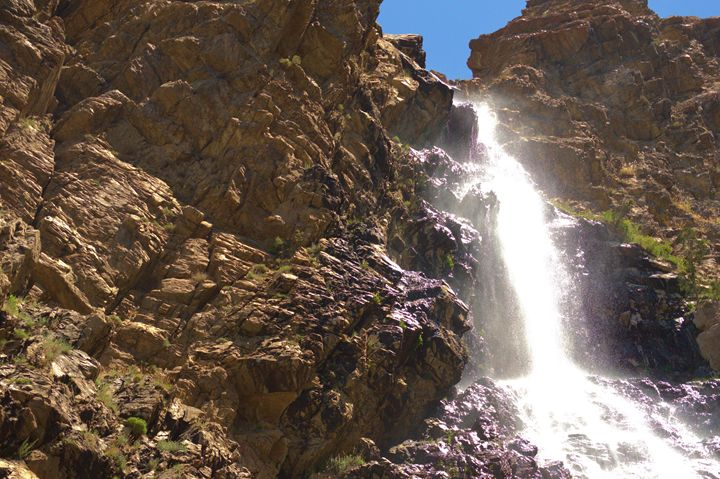 Canyon Waterfall - Photography by Shellee