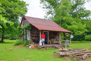 Log Cabin 1919