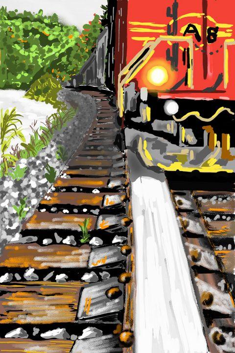 Railroads and trains - Antoine Khanji