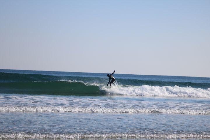 Winter surfing - Antoine Khanji
