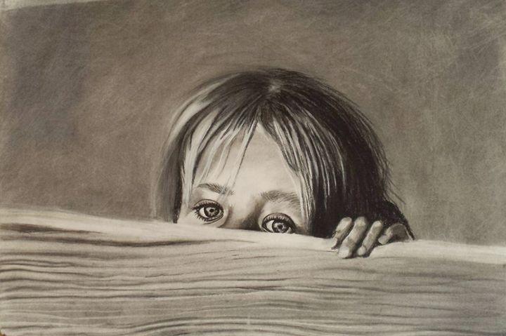 Sneaking a peek - Melissa Nereson