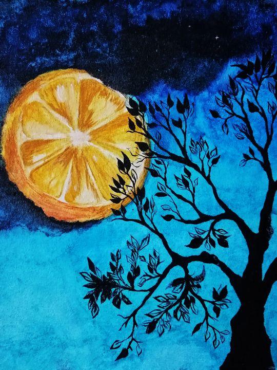 orange moon - dubina