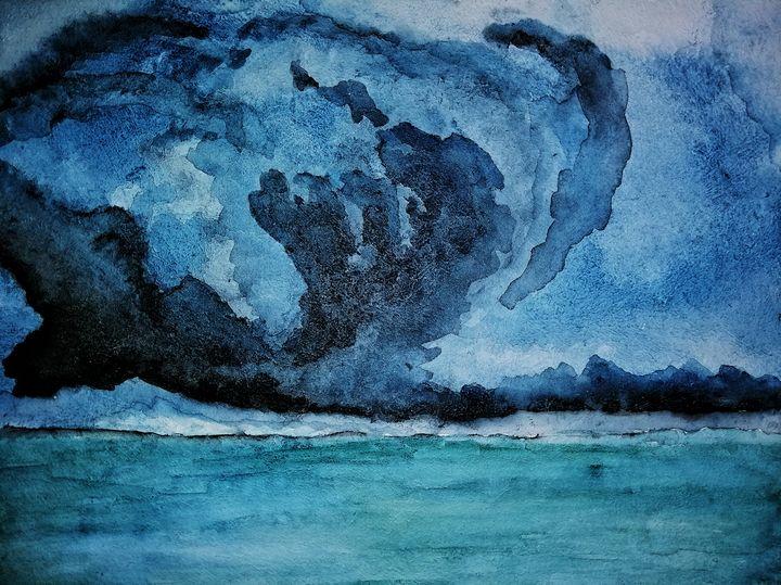 Hurricane inside the world. - dubina