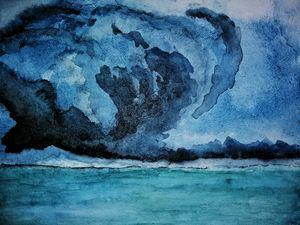 Hurricane inside the world.