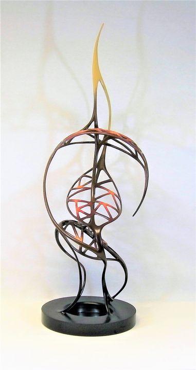 Gene Family Tree - Zvi Goldman, Sculptor