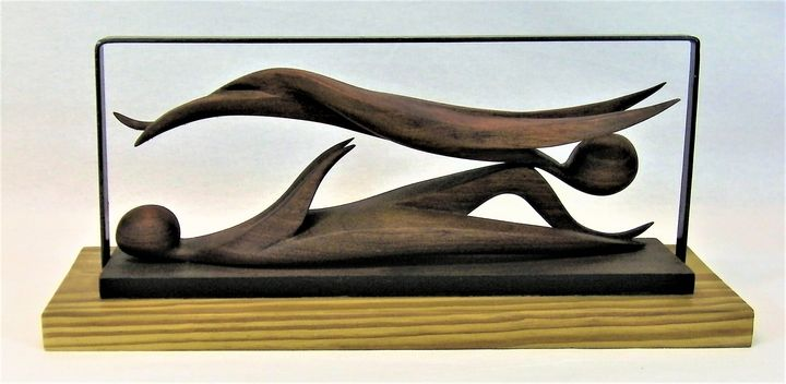 Frame of Mind - Zvi Goldman, Sculptor