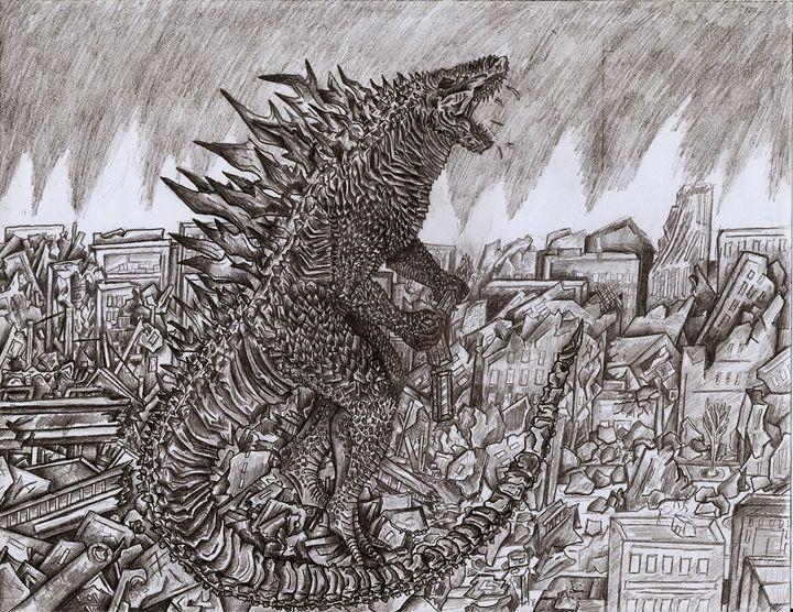 Godzilla - My Imagination/ Moises castellanos
