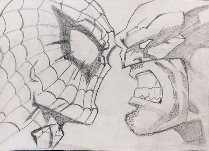 spiderman Vs. wolverine - angel's gallery