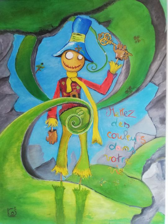 The key to the land of Oz - Cartoon Adventures of Mr Colors