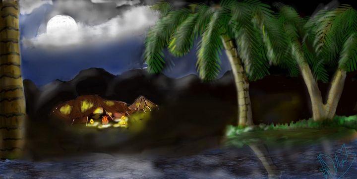 DESERT NIGHT - My choose