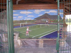Mural-tennis - Jaroslav Jerry Svoboda