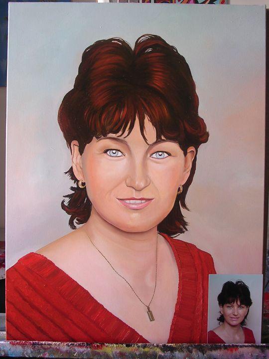Portrait of the woman - Jaroslav Jerry Svoboda