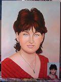 Portrait-oil on canvas
