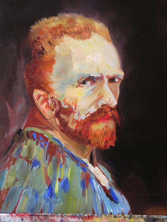 V.V.Gogh-Self Portrait - Jaroslav Jerry Svoboda