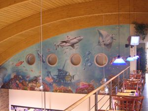 Mural-bowling center 2004