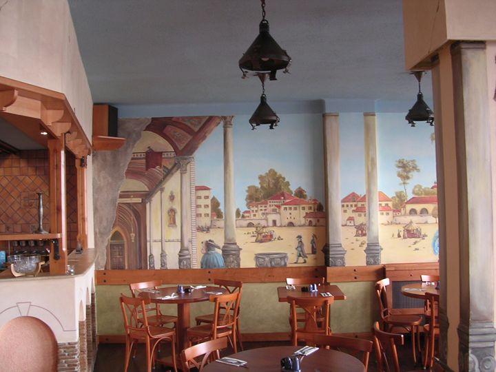 Mural - Pizzeria - Jaroslav Jerry Svoboda