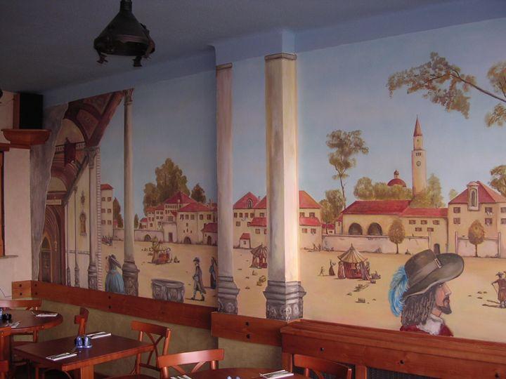 Mural-pizzeria - Jaroslav Jerry Svoboda