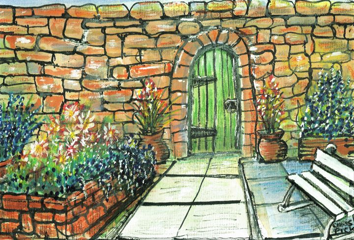 The Walled Garden - Chris Pick