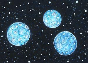 3 Blue Moons