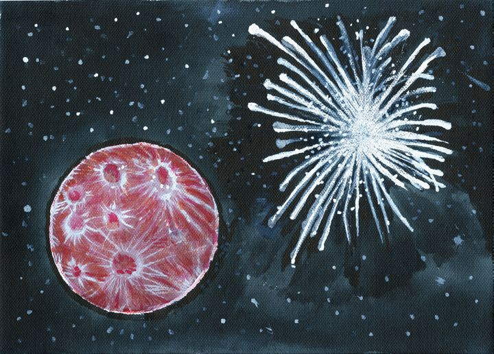 Red Moon & Starburst - Chris Pick