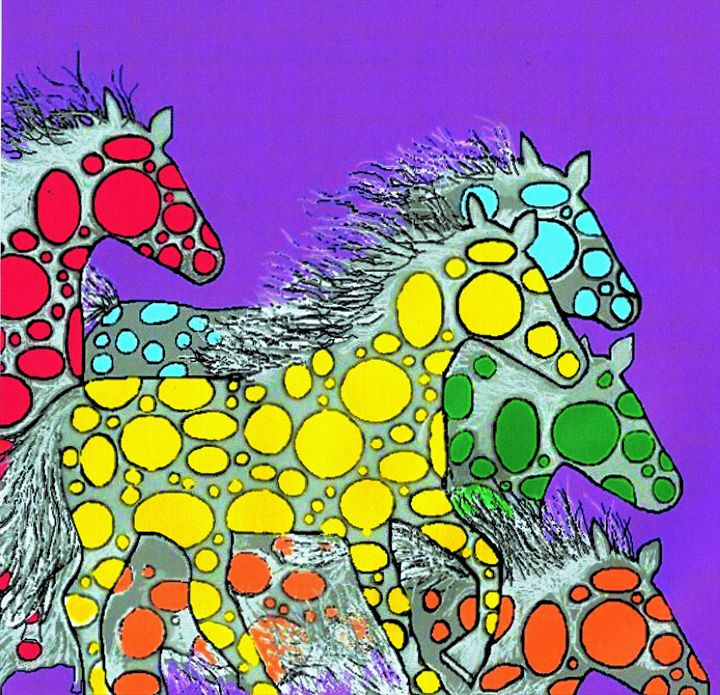 Four Polka Dot Ponies - Chris Pick