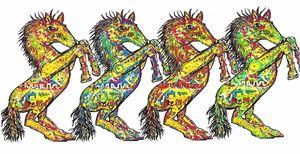 Rock Horses Love to Conga