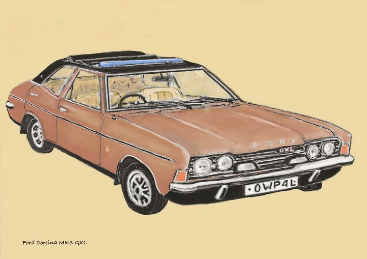 Ford Cortina MK3 GXL - Chris Pick