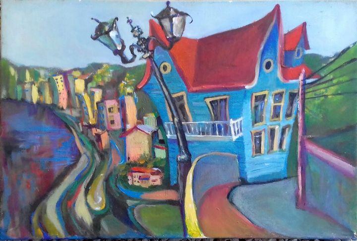 casa de brujas - Arte de Tatiana Tarasova