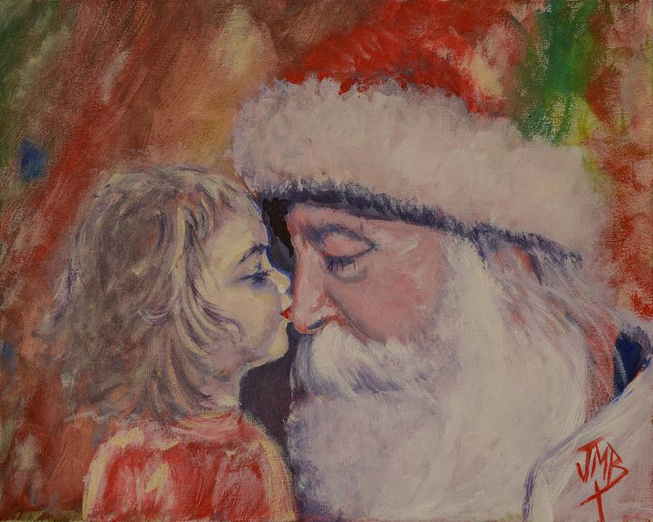 """A Kiss For Santa"" - Joseph Michael Brown"