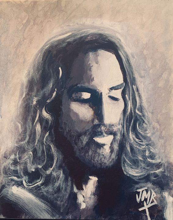 """Jesus Prays For You"" - Joseph Michael Brown"