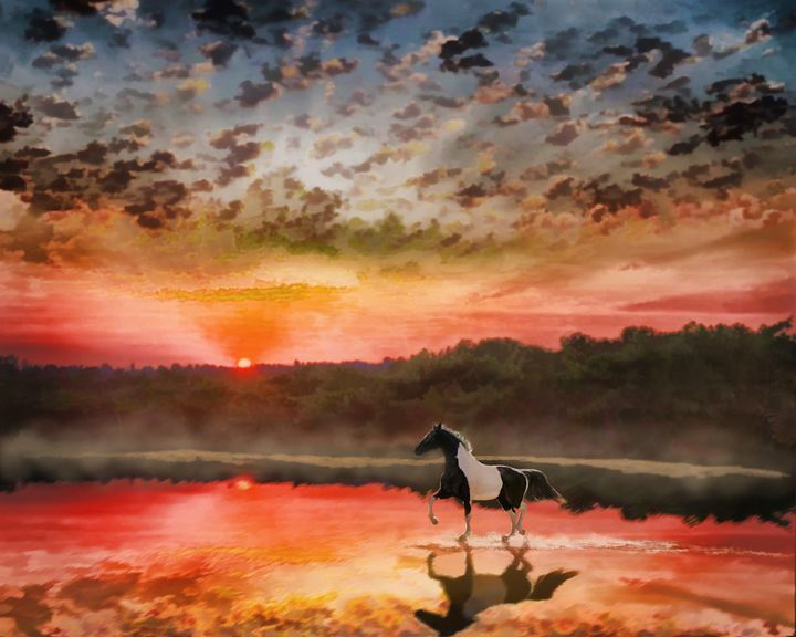 Reflections of Logan - WILD ART BY MELINDA
