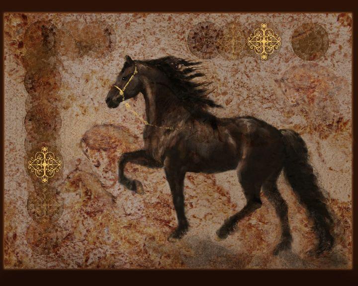 The Emporer's Satllion - WILD ART BY MELINDA