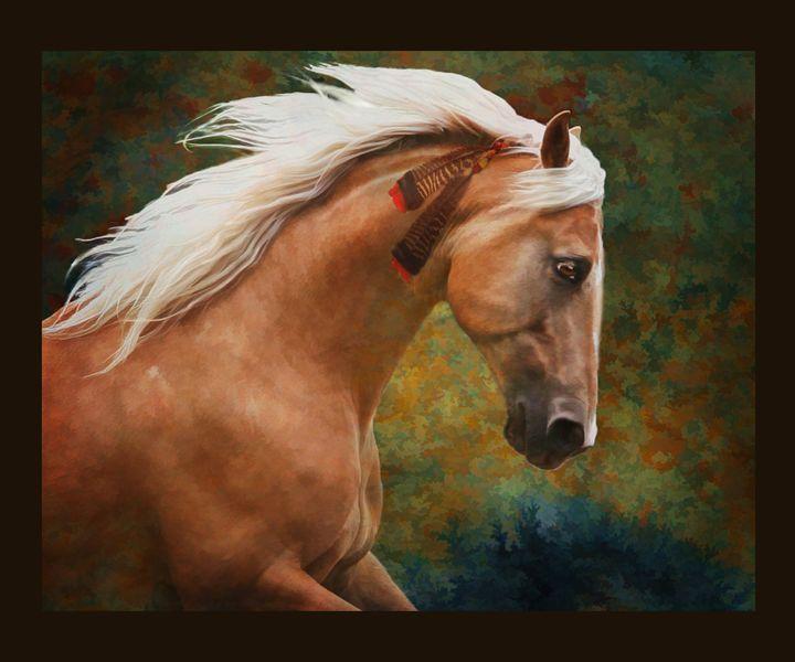 Wind Warrior - WILD ART BY MELINDA