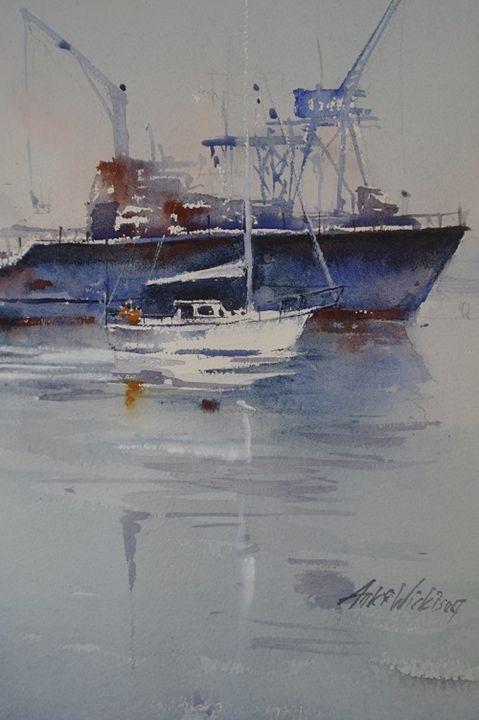 Harbour - anki wickison art