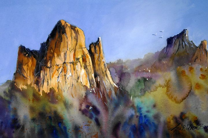 Cathedral Rock - anki wickison art