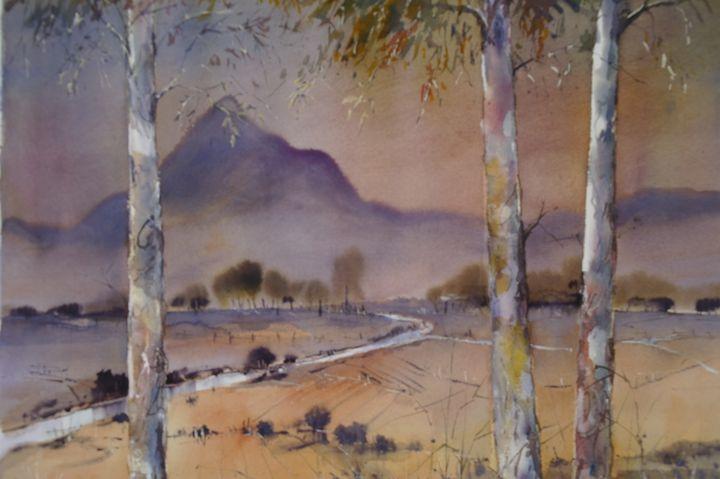 AFTERNOON GLOW - anki wickison art