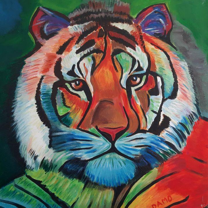 tiger - damo