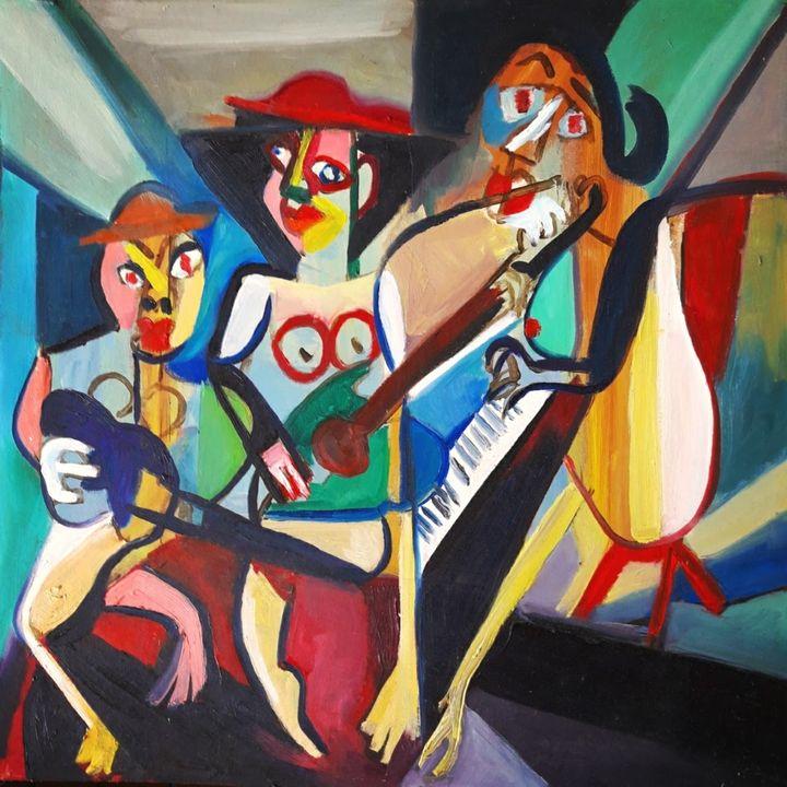 3 musicians - damo